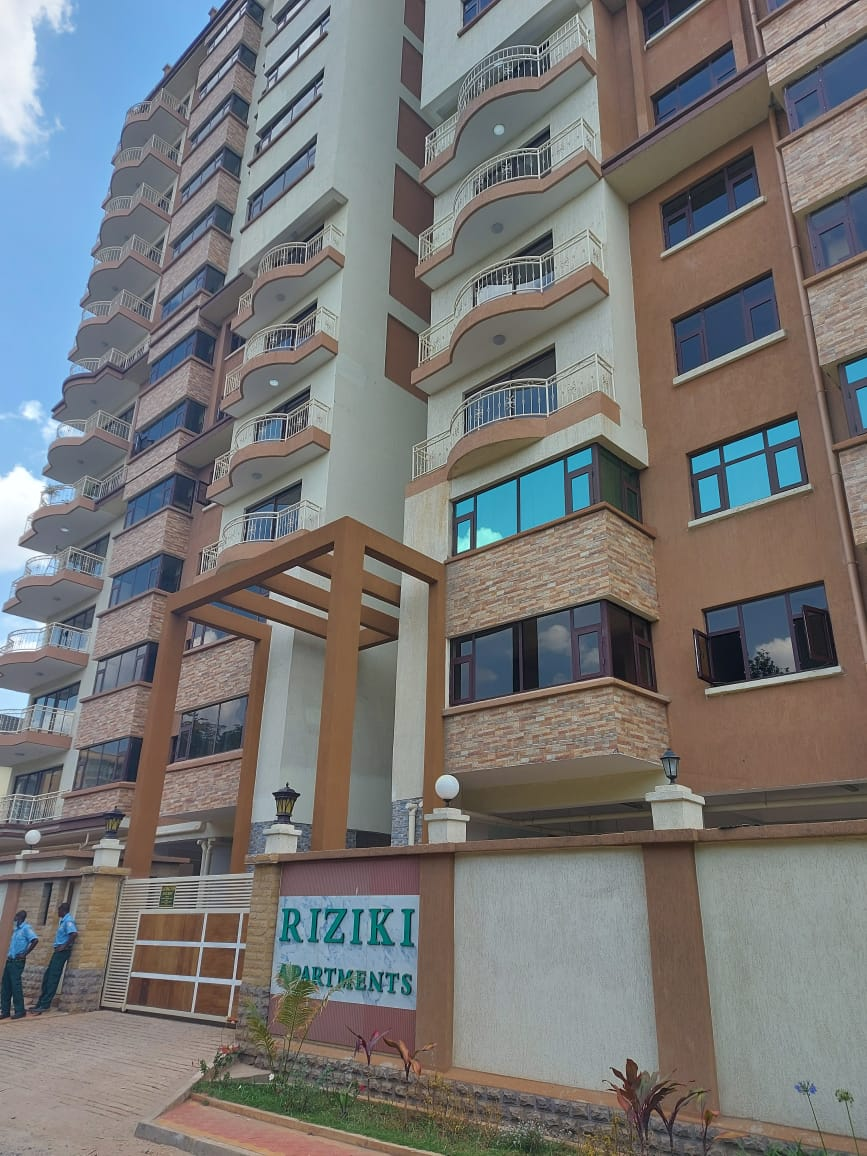 A 2 Bedroom Apartment For Sale At Riziki Apartments, Off Othaya Road