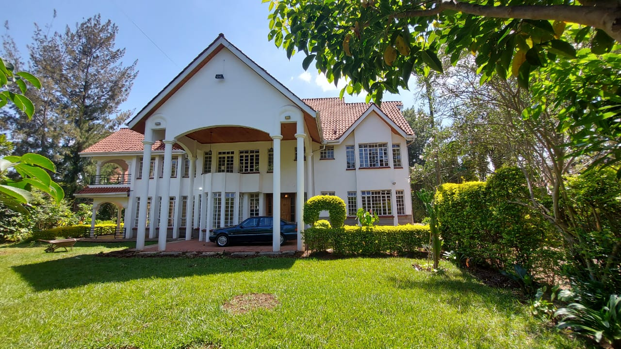 An Elegant 5 Bedroom House To Let In Runda Along Glory Road